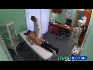 [FakeHospital.com] (E07) Student With Lovely Big Pussy Lips Gets Full Check Up and Creampie (2013) 7