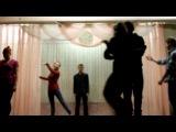 Репетиция танца Же Тем к Новому году 2012